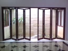 pintu lipat ruang taman kaca aluminium 4