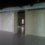 Poject Pemasangan penyekat ruangan di BX mall lt III - bintaro sektor 7 Jl. HR. Rasuna said memakai sistem lipat